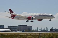 "Virgin Atlantic 787-900 Dreamliner ""Lucy in the Sky"" (G-VDIA) LAX Approach 2 (hsckcwong) Tags: virginatlantic virginatlanticairways787900 7879 787 dreamliner gvdia lucylnthesky lax klax"