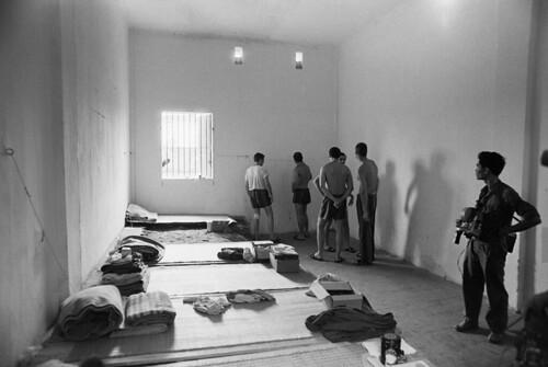 HANOI 1973 - American POWs in Prison Cell in Hanoi