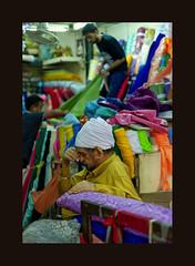 Long day (Antoine - Bkk) Tags: market bangkok thailand fabric atmosphere reportage explore dof