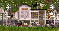 Majesty- The Hen House (Ebony (Owner Of Majesty)) Tags: granola jian majesty majesty2019 majestysl thearcade chickens henhouse animals pets farm greenery lush spring summer decor decorating homedecor homeandgarden homes homesweethome home homey livingspaces virtual virtualservices virtualspaces videogames secondlife sl
