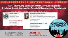 ACRM Pre-Conference Instructional Course: IC16 Unger #598854 (ACRM-Rehabilitation) Tags: acrmprogressinrehabilitationresearchconference acrmconference acrm annualconference acrm americancongressofrehabilitationmedicine medicaleducation medicalconference medicalassociation medicaltechnology interdisciplinary interprofessional instructionalcourse preconference preconferenceinstructionalcourse progressinrehabilitationresearch chicago acrm2019