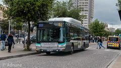 Man lion's city GNC NL273 sur le 103 (adnaneabdoulwahab1) Tags: ratp bus ligne103 manlionscity