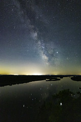 Ferry Bluff II (UH82NVMy Photography) Tags: irix irix15mm firefly canon uh82nvme uh82nvmyphotography astroscape stars milkyway wisconsin reflection longexposure milkywaychaser bluff water wisconsinriver