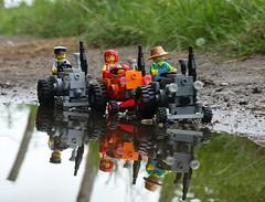 Kult Kult Kult (captain_joe) Tags: toy spielzeug 365toyproject lego minifigure minifig moc car auto trecker tractor lanz bulldog lanzbulldog series15 farmer