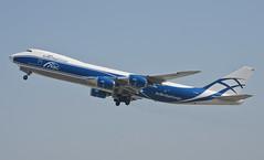 AirBridgeCargo 747-8F (VP-BJS) LAX Takeoff 3 (hsckcwong) Tags: airbridgecargoairlines airbridgecargo 7478f 747800f 747800freighter vpbjs lax klax