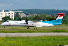 LX-LQD Luxair De Havilland Canada DHC-8-402Q Dash 8 (Osdu) Tags: gva genevainternational lsgg aircraft airplane avion aeroplano aereo 机 vliegtuig aviao uçak аэроплан samolot flugzeug luftfahrzeug flygplan lentokone aeroplane طائرة letoun fastvingefly avión lennuk هواپیما flugvél aëroplanum самолёт 固定翼機 飛機 spotting planespotting avia aviation dehavillandcanada luxair lxlqd dehavilland dhc8 dash8