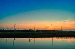 Mirror. (Alex-de-Haas) Tags: adobelightroom aurorahdr aurorahdr2019 dji dutch fc6310 hdr holland n9 nederland nederlands netherlands noordholland noordhollandschkanaal p4p phantom phantom4 phantom4pro rc schoorldam skylum warmenhuizen westfrisia westfriesland aerial aerialphotography air beautiful beauty bewolking canal cirrus clouds drone dusk kanaal landscape landschaft landschap lente lucht luchtfotografie polder quadcopter reflectie reflection schemer schemering skies sky sluierwolken spring sundown sunset water wolken zonsondergang northholland