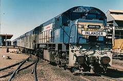 Mt Isa (andrewsurgenor) Tags: trains queensland queenslandrailways qr 1067mm clyde emd diesel locomotive railroad railway rail railfan railways r