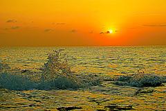 Seascape (prokhorov.victor) Tags: море вечер закат солнце вода берег природа