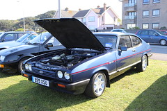 Ford Capri 2.8 Injection Special B99XSU (Andrew 2.8i) Tags: classics meet show cars car classic weston westonsupermare capri ford coupe europe euro european v6 28 hatch liftback hatchback mark 3 mk mk3 iii injection 2800 cologne special
