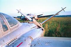 Fouga Magister (stéphanehébert) Tags: avionplanefougamagisterpentaxz1fujisupergdxosilverfast avion plane fouga magister pentax z1 fuji superg dxo silverfast cm170