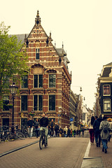 On a street in Amsterdam (ROGOdesign) Tags: roja amsterdam amsterdamcity iamsterdam city cityscape architecture arquitectura architecturelovers architecturephotography architectbuilding architecturephotograpy flora flowers flor flower bicycle bike bikelife streetphotography street stilllife urban holland urbanlandscape people citystyle ecology ecologicalcity rodrigogodinez