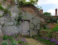 Sorry, staff only (Grooover) Tags: door doorway wall walled garden plants path blickling hall norfolk grooover