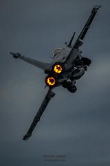 Scramble at night (Erwan Garel Photographe Aviateur) Tags: dassault rafale postcombustion afterburner avion aviation chasseur nuit décollage