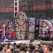 Schwedische Heavy-Metal-Band Ghost als Vorband und Special Guest beim Metallica-Konzert im RheinEnergie Stadion in Köln