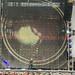 Metallica-Sänger James Hetfield spielt auf der Snakebyte Gitarre im RheinEnergie-Stadion während des Tourkonzerts in Köln