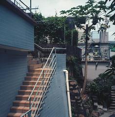Cheung Chau island (Vinzent M) Tags: hong kong 香港 zniv tlr rollei rolleiflex 35 zeiss planar kodak ektar 長洲 cheung chau