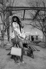 christelle yambo (mereghettidavidphotoportrait) Tags: 2018 2019 christineyambo lumiere portrait vieuxmontreal