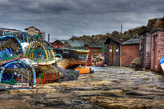 Pettycur 28 August 2018 00122.jpg (JamesPDeans.co.uk) Tags: hut landscape wooden fishingboats northsea firthofforth pettycur unitedkingdom fife fishing britain lobsterpots wwwjamespdeanscouk landscapeforwalls europe uk digitaldownloadsforlicence woodenbuildings forthemanwhohaseverything gb greatbritain transporttransportinfrastructure ky162 sea objects fishingboatregistrations scotland kirkcaldyky hdr outbuildings huts camera architecture printsforsale fishingindustry coast shore jamespdeansphotography