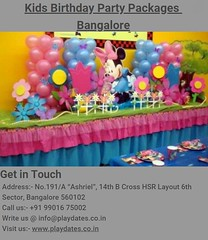 Kids Birthday Party Packages Bangalore (joshanlink) Tags: kids birthday party packages bangalore