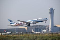 El Al Israel Airlines (San Francisco / Las Vegas) livery, B789, 4X-EDD, TLV-LAS (LLBG Spotter) Tags: elal 4xedd b787 tlv aircraft special airline llbg