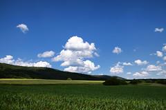 Ombre et lumière (Croc'odile67) Tags: nikon d3300 sigma contemporary 18200dcoshsmc paysage landscape campagne champ ciel cloud sky nature nuage ombre lumière