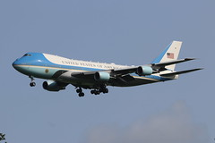 Air Force One (Retro Jets) Tags: usaf vc25 b742 stn airforceone