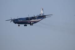 Ukraine Air Alliance A12, UR-CNT, AQI-TLV (LLBG Spotter) Tags: urcnt airline aircraft tlv ukraineairalliance special an12 llbg