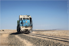 Loaded In The Big Empty (channel packet) Tags: mauritania sahara desert iron ore train freight transport davidhill