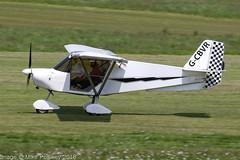 G-CBVR - 2002 build Best Off Skyranger, arriving on Runway 26L at Barton (egcc) Tags: bmaahb231 barton bestoff cityairport egcb gcbvr jenkins lightroom lunney manchester microlight skyranger