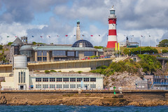 Plymouth Hoe (Rich Walker Photography) Tags: plymouth plymouthhoe devon landscape landscapes landscapephotography england uk greatbritain canon eos eos80d lighthouse pool clouds historic history sea water