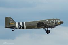 Douglas C-53D Skytrooper 'D-Day Doll' (42-68830/CU-R), 434th TCG (mattmckie98) Tags: aviation aircraft airforce usaf us c53 military duxford nikon