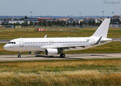F-WWIU Airbus A320 Aero K (@Eurospot) Tags: fwwiu airbus a320 9037 toulouse blagnac aerok