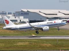 F-WWIS Airbus A320 Air China (@Eurospot) Tags: b309f fwwis airbus a320 neo 9013 airchina toulouse blagnac