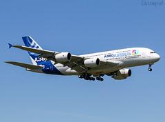 F-WWOW Airbus A380 (@Eurospot) Tags: fwwow airbus a380 toulouse blagnac