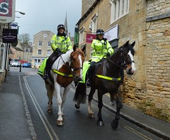 Mounted Police in England, UK (shorty_nz_2000) Tags: horse police woman man policewoman english british uk horseback back horses cotswolds policeman policemen two 2 uniform