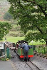 DSCF7229 (Steve Guess) Tags: laal ratty re ravenglass eskdale cumbria england gb uk steam narrow gauge railway 15inch 460mm riverirt engine loco locomotive dalegarth boot
