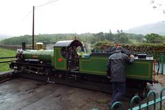 DSCF7227 (Steve Guess) Tags: laal ratty re ravenglass eskdale cumbria england gb uk steam narrow gauge railway 15inch 460mm riverirt engine loco locomotive dalegarth boot turntable