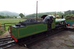 DSCF7226 (Steve Guess) Tags: laal ratty re ravenglass eskdale cumbria england gb uk steam narrow gauge railway 15inch 460mm riverirt engine loco locomotive dalegarth boot turntable