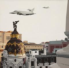 Premios Ejército del Aire 2019 modalidad de pintura (Ejército del Aire Ministerio de Defensa España) Tags: cuadro pintura premios obras acuarela saunders eurofighter madrid tejados