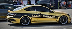 (Uno100) Tags: mercedes benz car coupe c class gold black turbo tuning exhibition exclusive 63 amg mae design wheels rims akrapovic series super sunday assen 2019