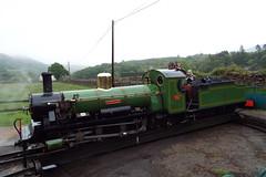 DSCF7228 (Steve Guess) Tags: laal ratty re ravenglass eskdale cumbria england gb uk steam narrow gauge railway 15inch 460mm riverirt engine loco locomotive dalegarth boot turntable