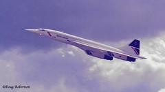 RNAS Yeovilton Air Day - Aérospatiale-BAC Concorde (DougRobertson) Tags: rnasyeovilton concorde aircraft airshow airdisplay airday britishairways
