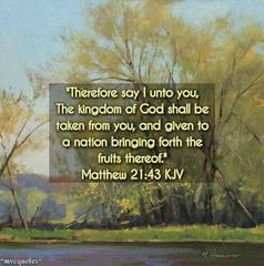 #KJV #KJVBible #Bible #BibleVerse #Word #Scripture #VerseOfTheDay #GOD #YHWH #JesusChrist #Messiah #YeshuaHaMashiach #HolySpirit #RuachHaKodesh #ReadItInItsContext #ConsultTheWord #Peace #Believe #Hope #Faith #Salvation #mvcquotes #WelcomeToShare ✝:cherry (mvcquotes3) Tags: jesuschrist mvcquotes welcometoshare verseoftheday word salvation messiah bible faith kjvbible believe consulttheword peace prayer bibleverse hope yeshuahamashiach god yhwh scripture kjv holyspirit readitinitscontext painting art ruachhakodesh life worship