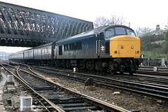 c.05/1985 - Holgate Junction, York. (53A Models) Tags: britishrail sulzer type4 peak class45 45131 diesel passenger holgatejunction york train railway locomotive railroad