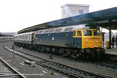 c.07/1985 - York. (53A Models) Tags: britishrail brush type4 class47 47626 atlas diesel passenger york train railway locomotive railroad