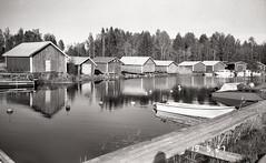 Åminne (Foide) Tags: boathouses