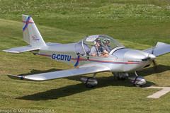 G-CDTU - 2005 build Aerotechnik EV-97 Eurostar, visiting Barton (egcc) Tags: 2522 aerotechnik barton cityairport egcb ev97 eurostar evektor gcdtu gcdtugroup lightroom manchester microlight