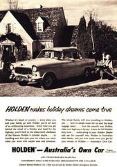 1957 FE Holden Special Sedan Aussie Original Magazine Advertisement (Darren Marlow) Tags: 1 5 7 9 19 57 1957 f e fe h holden s special sedan c car cool collectible collectors chrome classic a automobile v vehicle g m gm gmh general motors aussie australian australia 50s