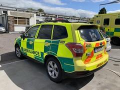 Irish National Ambulance Service - Subaru Forester - Rapid Response Vehicle - Killarney, County Kerry (firehouse.ie) Tags: subaru ireland nas hse rrv frc emergency emt ems ambulansa ambulancia ambulances ambulance